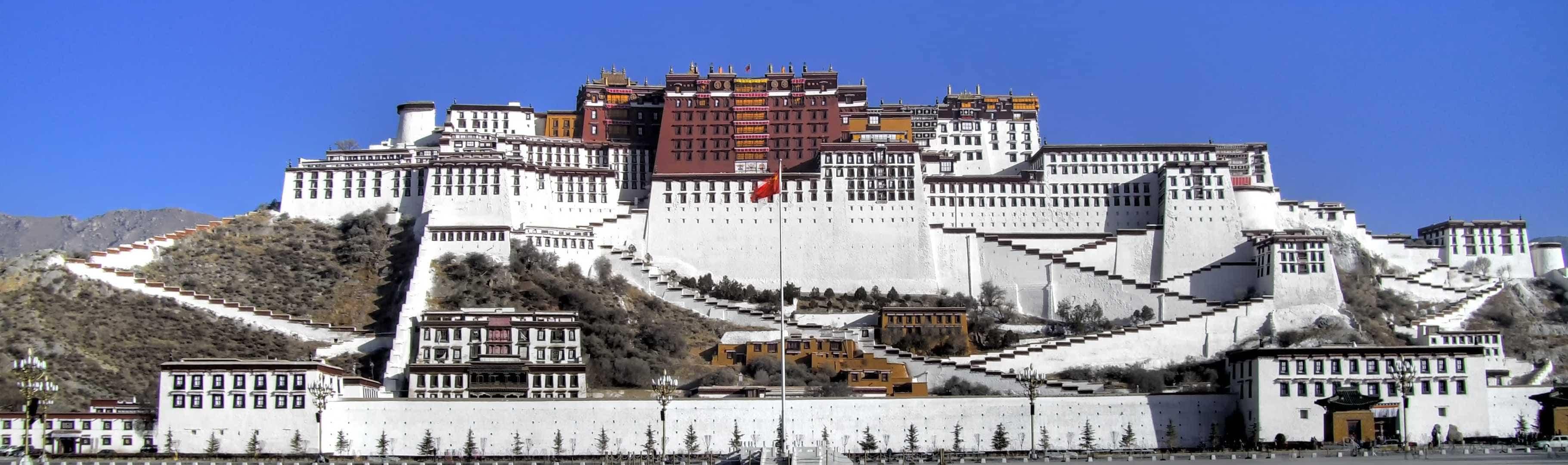 Holy Potala Palace in Lhasa, Tibet