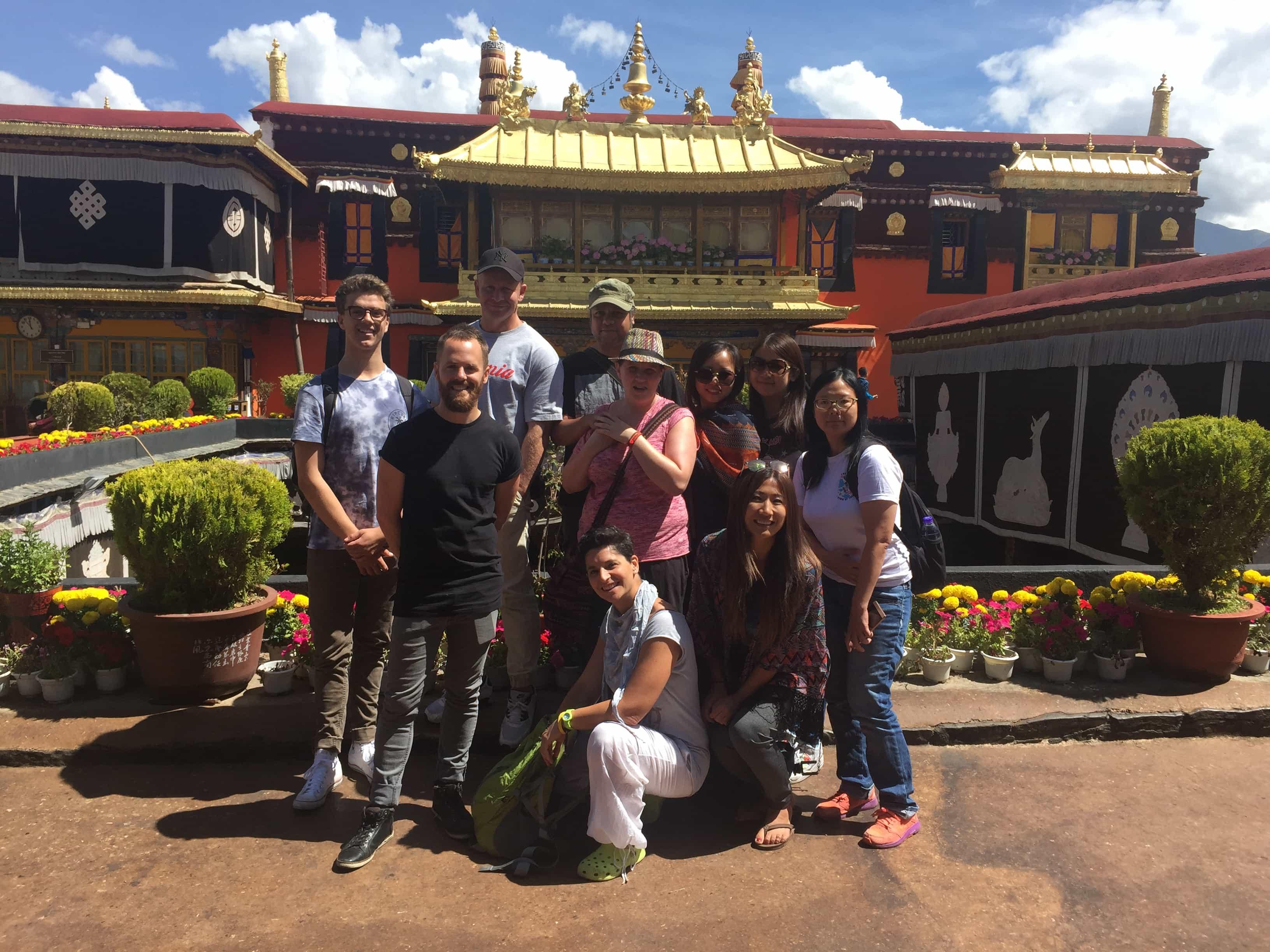 Group Tour Visiting Jokhang Temple
