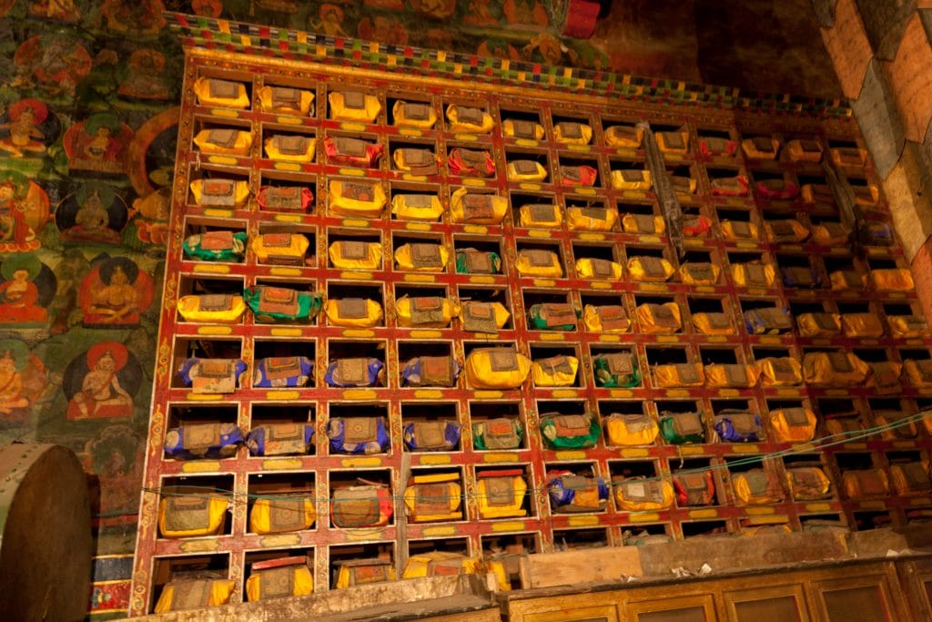 Collection of Buddhist scriptures