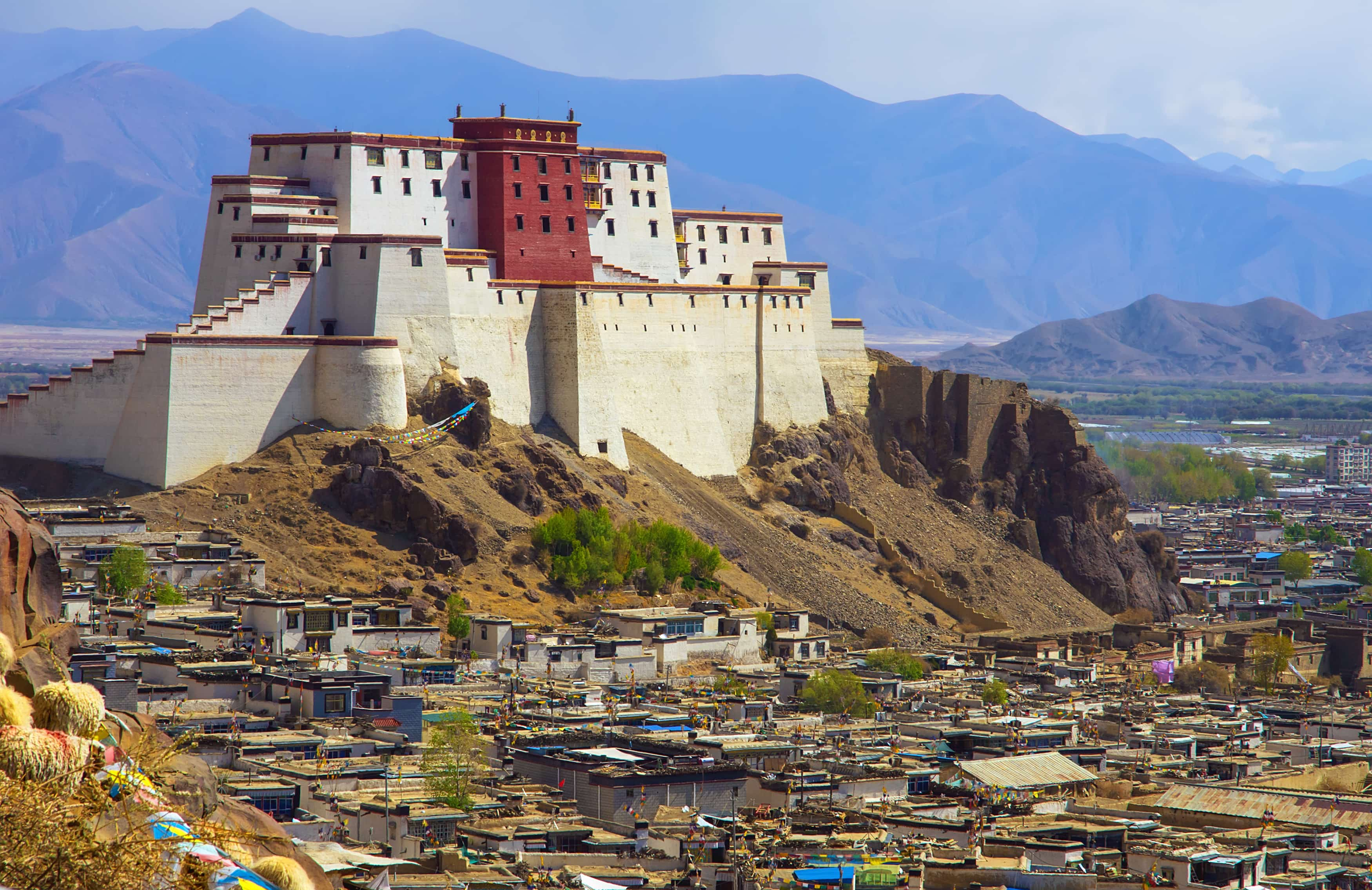 Copy of Potala Palace in Shigatse, Tibet