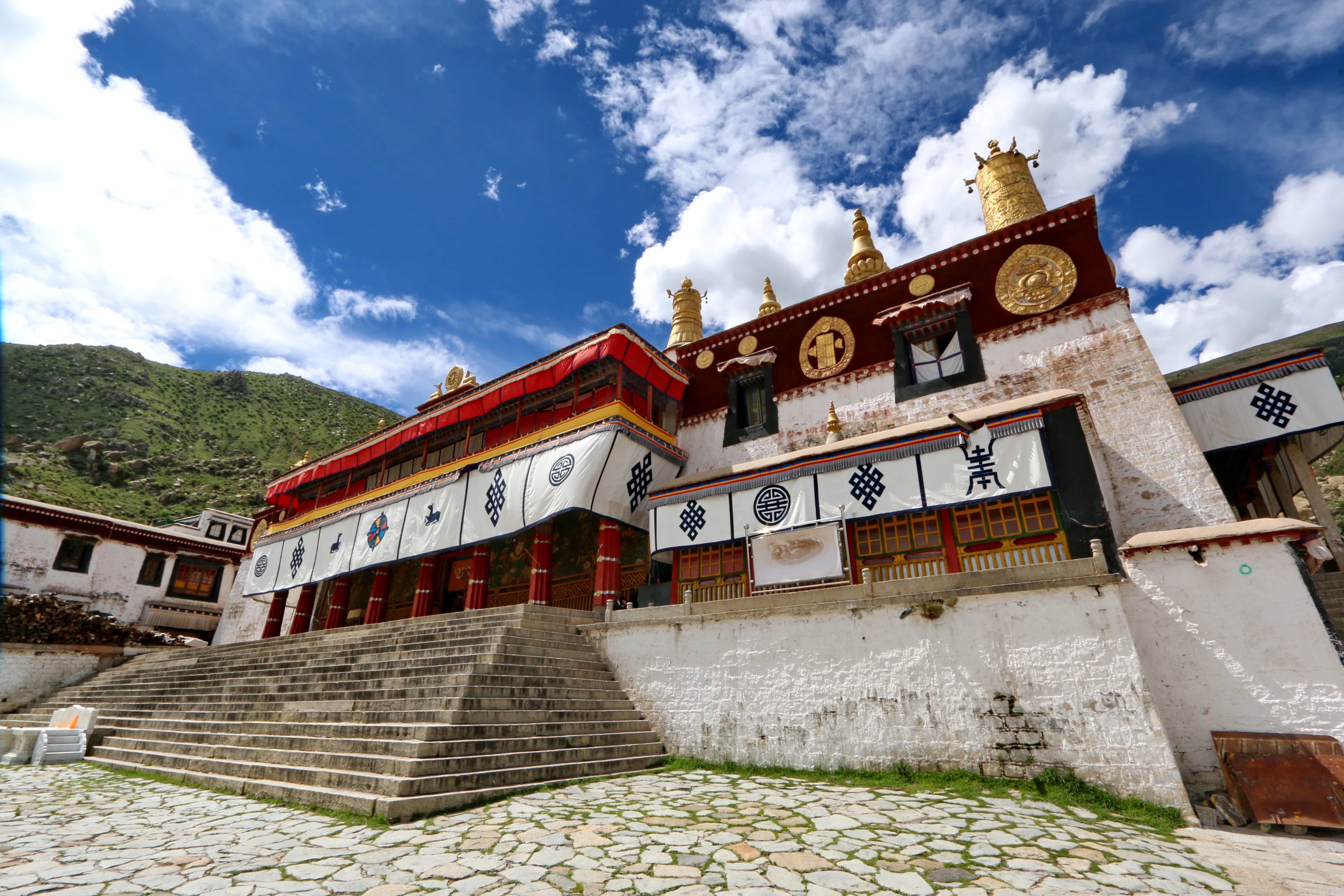 Drepung monastery in Lhasa, once the largest monastery in the world