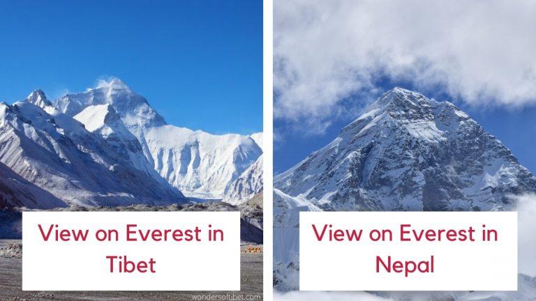 Tibet in Tibet vs Nepal